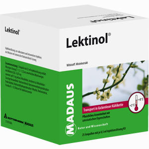 Abbildung von Lektinol Ampullen 25 x 0.5 ml