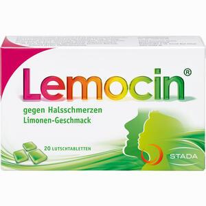 Abbildung von Lemocin gegen Halsschmerzen Lutschtabletten 20 Stück