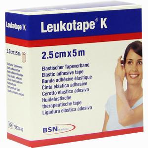 Abbildung von Leukotape K 2. 5cm X 5m Hautfarben 1 Stück
