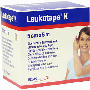 Abbildung von Leukotape K 5cm X 5m Hautfarben 1 Stück