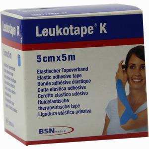 Abbildung von Leukotape K 5cm X 5m Hellblau Verband 1 Stück