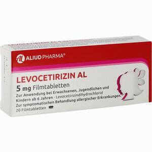 Abbildung von Levocetirizin Al 5 Mg Filmtabletten  20 Stück
