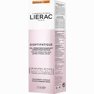 Abbildung von Lierac Dioptifatigue Müde Creme 15 ml