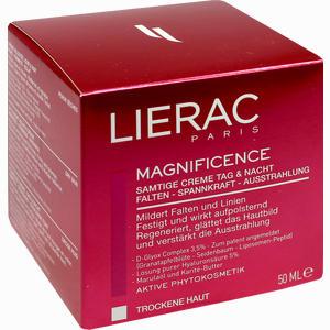 Abbildung von Lierac Magnificence Samtige Creme Tag & Nacht  50 ml
