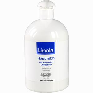 Abbildung von Linola Hautmilch Spender 500 ml