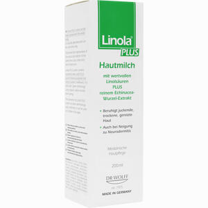 Abbildung von Linola Plus Hautmilch Lotion 200 ml