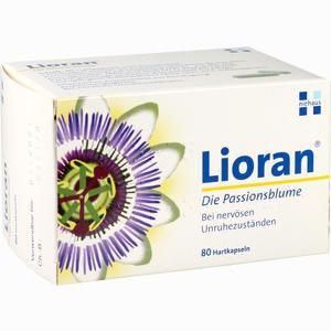 Abbildung von Lioran die Passionsblume Kapseln  80 Stück