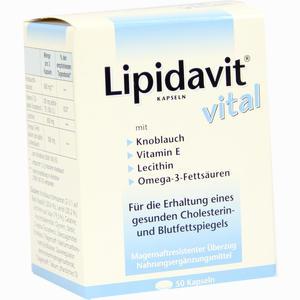Abbildung von Lipidavit Vital Kapseln 50 Stück