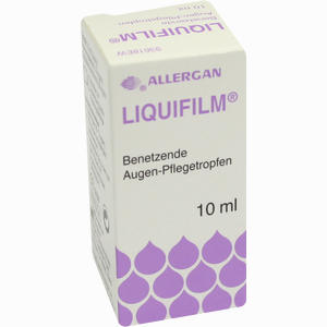 Abbildung von Liquifilm Benetzende Augen- Pflegetropfen Augentropfen 10 ml