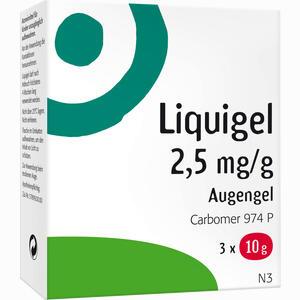 Abbildung von Liquigel Augengel 3 x 10 g