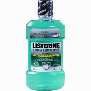 Abbildung von Listerine Zahn & Zahnfleisch Mundspülung 500 ml