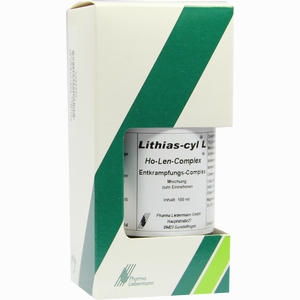 Abbildung von Lithias- Cyl L Ho- Len- Complex Entkrampfungskomplex Tropfen 100 ml