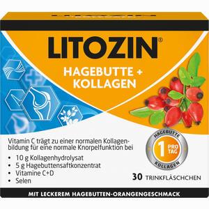 Abbildung von Litozin Hagebutte+kollagen Ampullen 30 x 25 ml