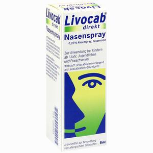 Abbildung von Livocab Direkt Nasenspray 5 ml