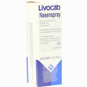Abbildung von Livocab- Nasenspray  Eurim 15 ml