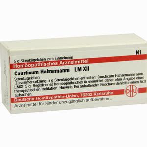 Abbildung von Lm Causticum Hahnema Xii Globuli 5 g