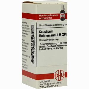 Abbildung von Lm Causticum Hahnema Xviii Dilution 10 ml