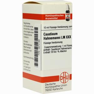 Abbildung von Lm Causticum Hahnema Xxx Dilution 10 ml