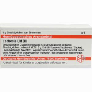 Abbildung von Lm Lachesis Xii Globuli 5 g