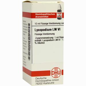 Abbildung von Lm Lycopodium Vi Dilution 10 ml