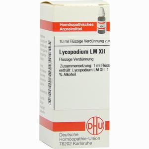 Abbildung von Lm Lycopodium Xii Dilution 10 ml