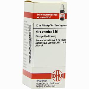 Abbildung von Lm Nux Vomica I Dilution 10 ml