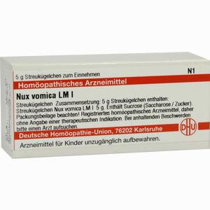 Abbildung von Lm Nux Vomica I Globuli 5 g