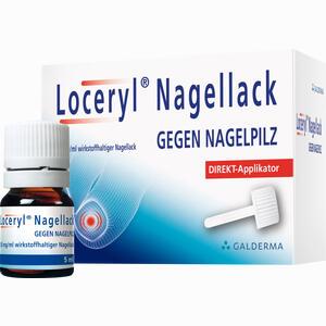 Abbildung von Loceryl Nagellack gegen Nagelpilz Direkt- Applikatoren 5 ml