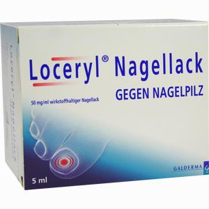 Abbildung von Loceryl Nagellack gegen Nagelpilz Lösung 5 ml