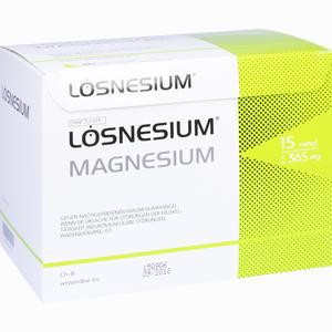 Abbildung von Lösnesium Magnesium Brausegranulat  50 Stück