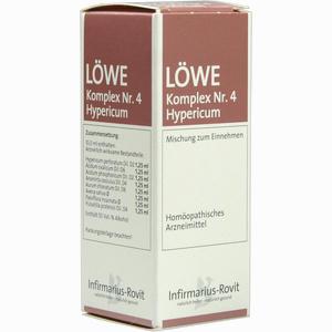 Abbildung von Löwe- Komplex Nr.4 Hypericum Tropfen 50 ml