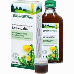 Abbildung von Löwenzahnsaft Schoenenberger  200 ml