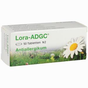 Abbildung von Lora- Adgc Tabletten 50 Stück
