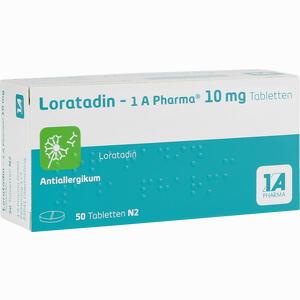 Abbildung von Loratadin - 1a Pharma Tabletten 50 Stück