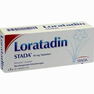 Abbildung von Loratadin Stada 10 Mg Tabletten 50 Stück