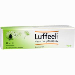 Abbildung von Luffeel Comp. Heuschnupfen Spray Nasenspray 20 ml