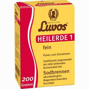 Abbildung von Luvos Heilerde 1 Fein Pulver  200 g