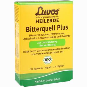 Abbildung von Luvos Heilerde Bio Bitterquell Plus Kapseln 30 Stück