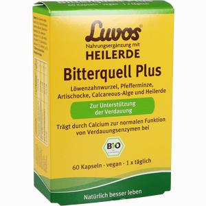 Abbildung von Luvos Heilerde Bio Bitterquell Plus Kapseln 60 Stück