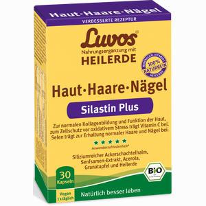Abbildung von Luvos Heilerde Bio Silastin Plus Haut Haare Nägel Kapseln 30 Stück