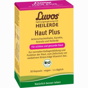 Abbildung von Luvos Heilerde Haut Plus Kapseln  30 Stück