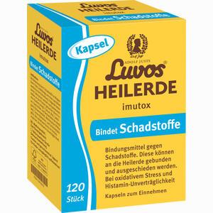 Abbildung von Luvos Heilerde Imutox Kapseln 120 Stück