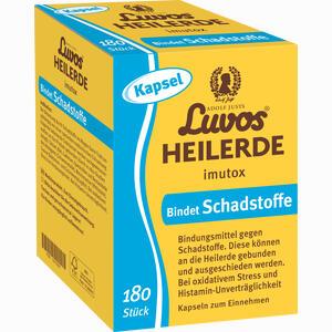 Abbildung von Luvos Heilerde Imutox Kapseln 180 Stück