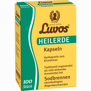 Abbildung von Luvos Heilerde Kapseln  100 Stück