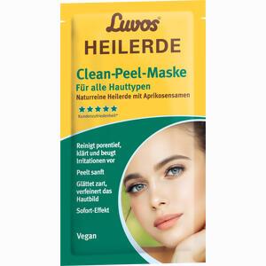 Abbildung von Luvos Heilerde Maske Clean- Peel Gesichtsmaske 2 x 7.5 ml
