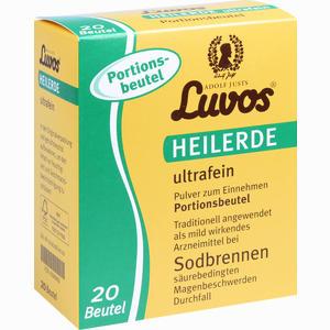Abbildung von Luvos Heilerde Ultrafein Portionsbeutel Pulver 20 x 6.5 g