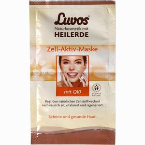 Abbildung von Luvos Heilerde Zell- Aktiv- Maske Gesichtsmaske 2 x 7.5 ml