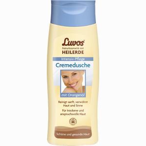 Abbildung von Luvos Naturkosmetik Cremedusche mit Orangenöl Duschgel 200 ml