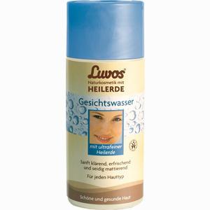 Abbildung von Luvos Naturkosmetik mit Heilerde Gesichtswasser Lösung 150 ml