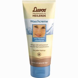 Abbildung von Luvos Naturkosmetik mit Heilerde Waschcreme  100 ml